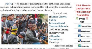 In The News - Santa Clarita Valley International Charter School