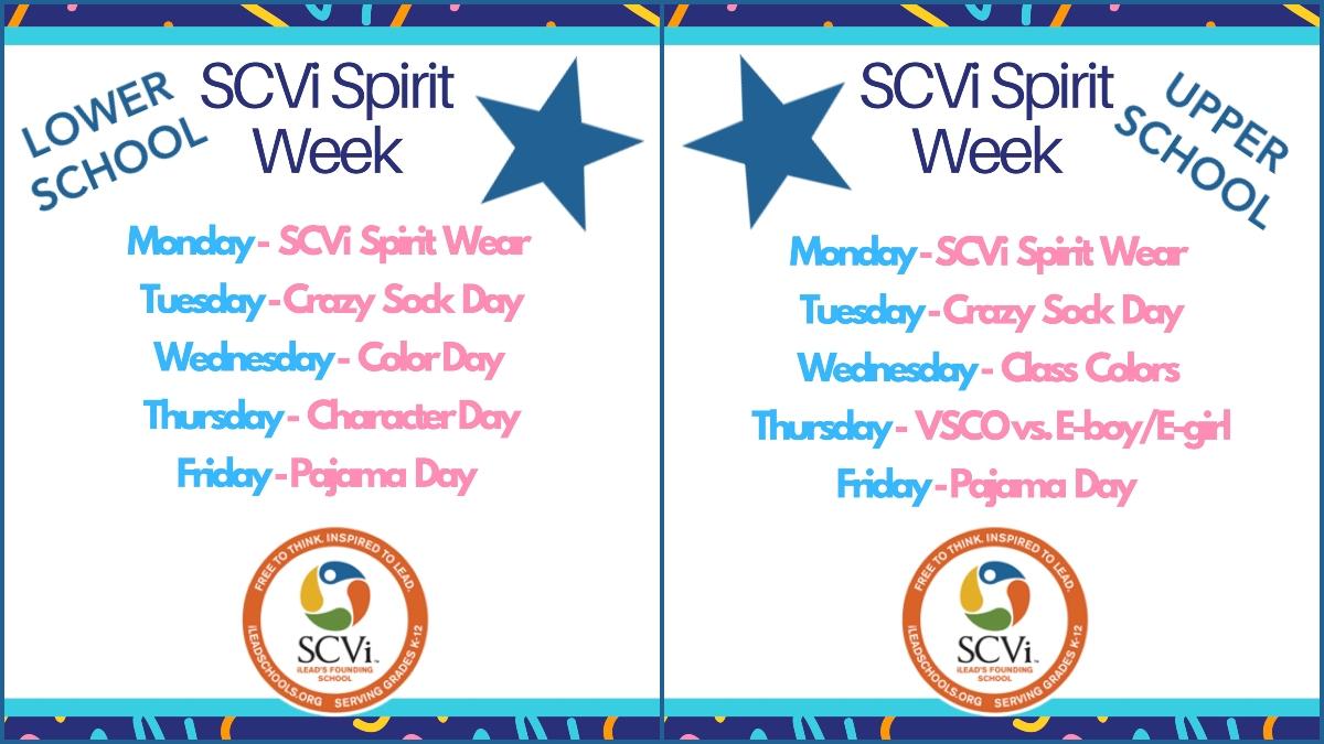 SCVi Spirit Week