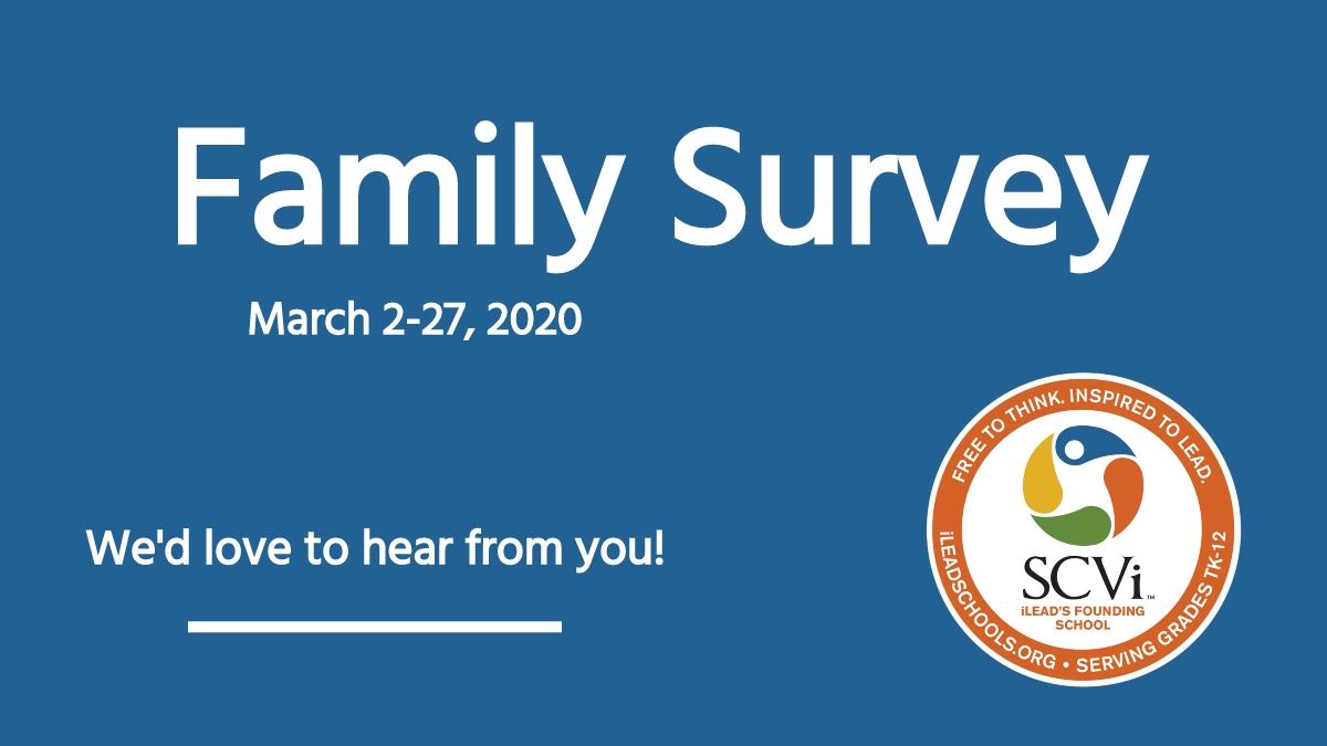 SCVi Family Survey