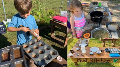 SCVi Mud Kitchen