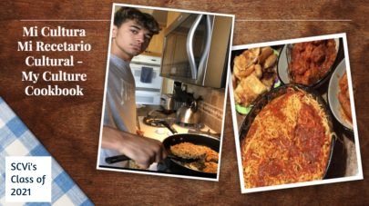 SCVi senior class culture cookbook learner cooks