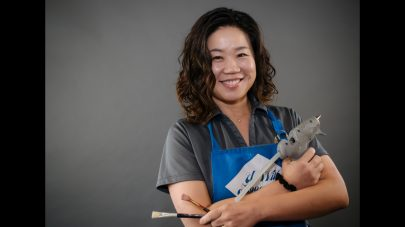SCVi Charter School Arts facilitator Yoonhee Aprahamian