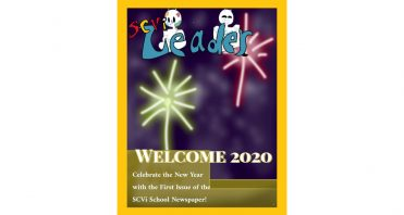 SCVi Leader student newspaper Issue 1 Welcome 2020