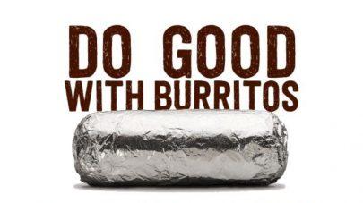 Do good with burritos - Chipotle