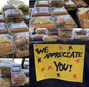 SCVi staff appreciation snacks