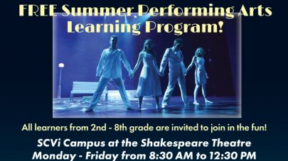 SCVi summer performing arts featured image