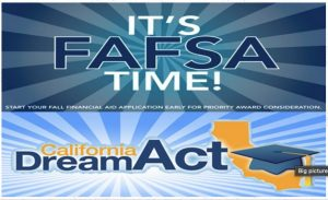 FAFSA, California Dream Act